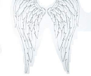 tattoo, angel, and drawing image
