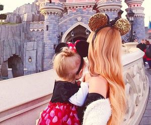 baby, disney, and family image