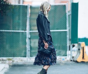 clothes, floral, and nyc image