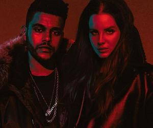 lana del rey and the weeknd image
