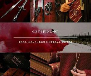 gryffindor, harry potter, and house image