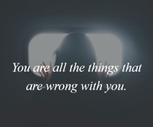 dark, quotes, and things image