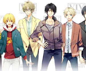 anime, anime boy, and tsukiuta image
