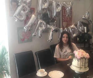 22, birthday, and birthday cake image