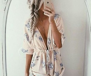 fashion, romper, and summer image