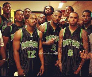 Basketball, chris brown, and the game image