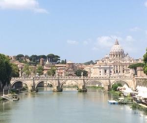 beautiful, bridge, and buildings image