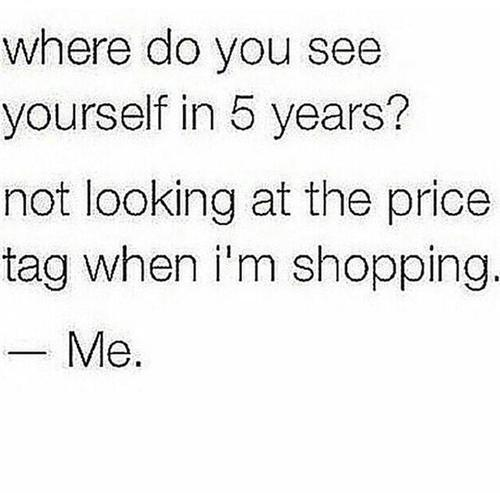 shopping, me, and quotes image