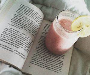 book, read, and smoothie image