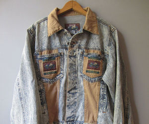 acid wash, ebay, and jean jacket image