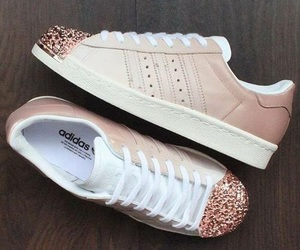 adidas, shoes, and glitter image