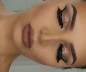 beauty, makeup, and look image