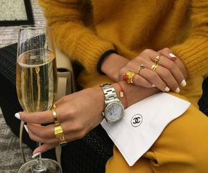 fashion, style, and champagne image