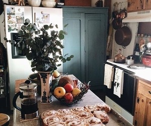 autumn, kitchen, and fall image