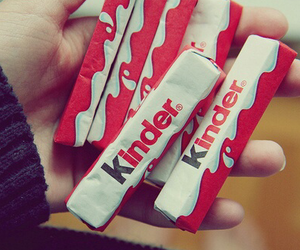 kinder, chocolate, and food image