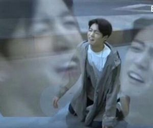 jungkook, funny, and meme image