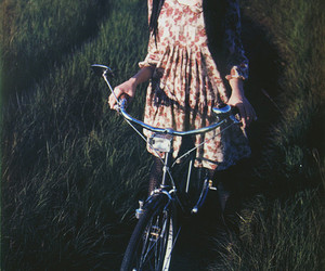 bike and dress image