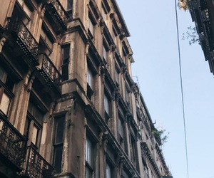buildings, iphone, and street image