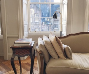 interior, beige, and home image