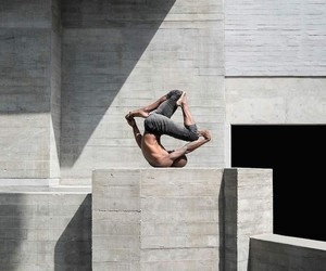 concrete, fitness, and grey image
