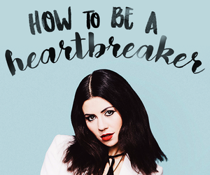 marina and the diamonds and how to be a heartbreaker image