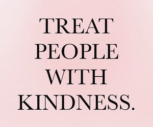 pink, quotes, and be kind image