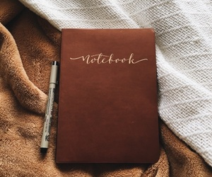 autumn, notebook, and fall image
