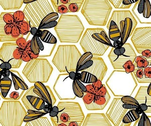 bee, wallpaper, and background image