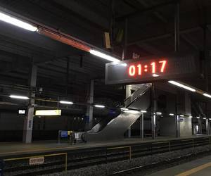 aesthetic, station, and dark image