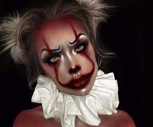 Halloween, it, and clown image