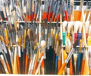 art, brush, and draw image