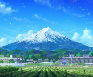 anime and anime scenery image