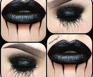 Halloween, black, and eyes image
