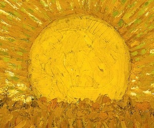 bellezza, giallo, and van gogh image