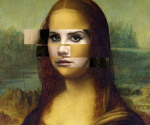 lana del rey, art, and grunge image