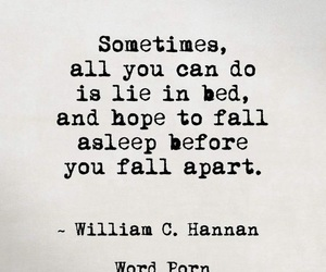 quotes, sad, and bed image