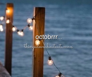 autumn, candles, and november image