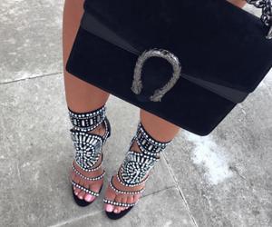 bag, heels, and meninas image