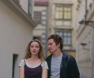 before sunrise, love, and julie delpy image