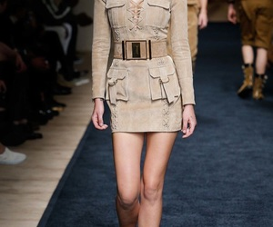 Balmain, fashion, and runway image
