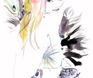 draw, watercolor, and 일러스트 image
