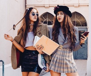 fashion, gucci, and plaid skirt image