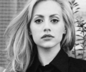 brittany murphy, black and white, and blonde image