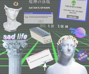 aesthetic, green, and pretty image