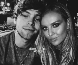 luke hemmings and perrie edwards image