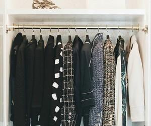 black, chanel, and closet image