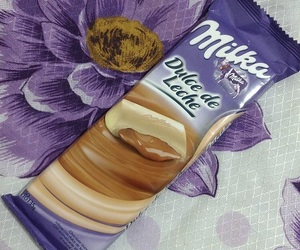chocolate, dulce de leche, and milka image