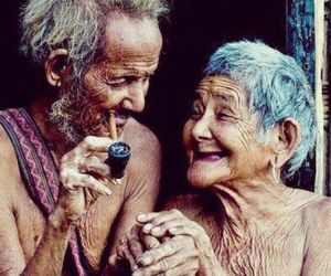 laughter, old people, and photography image