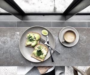 aesthetic, avocado toast, and decor image