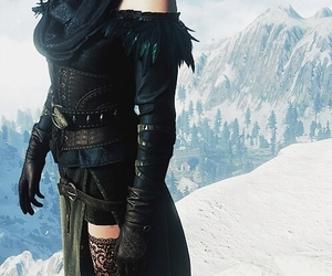 game, witch, and the witcher image